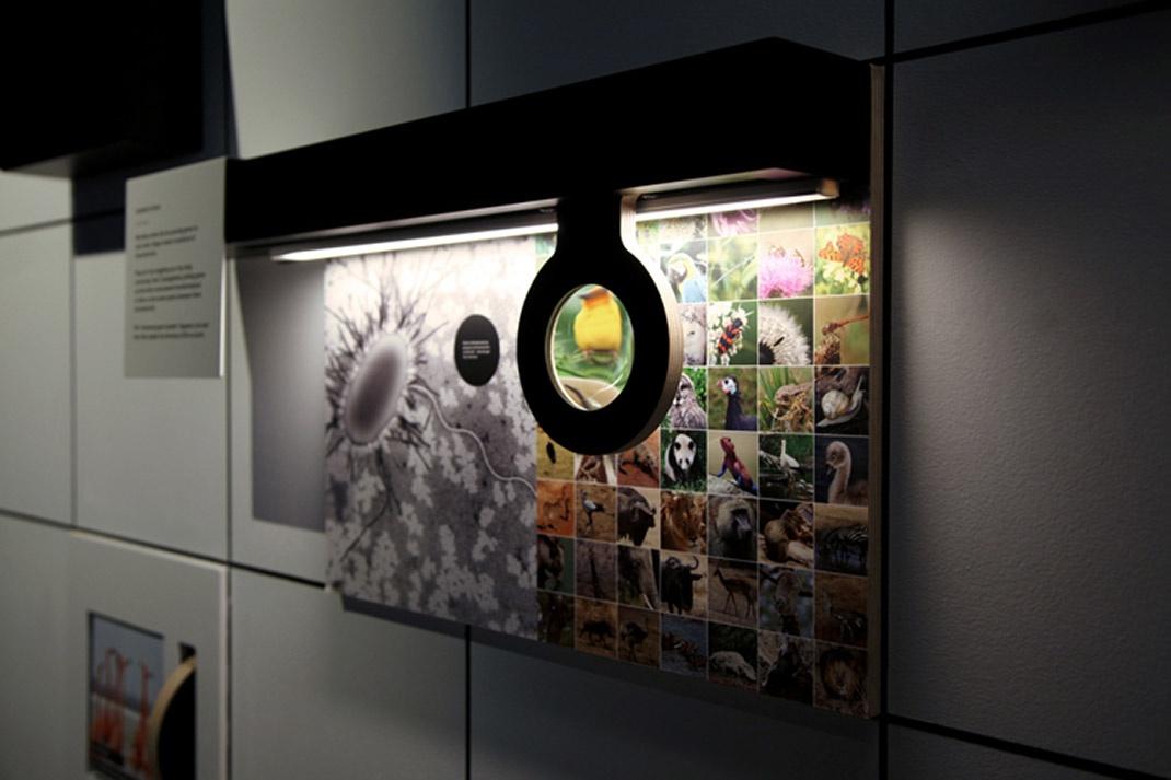 在康沃尔的伊甸园计划中,通过数码技术让微小的生物活了过来,Kin Design为伊甸园项目的新永久展览看不见的世界(Invisible Worlds)创造了互动装置,该展览深入探讨了微型微生物的迷人故事,以及人类对世界的影响。Kin Design为康沃尔著名植物园和世界上最大的室内雨林伊甸园计划的新展览创造了一套数字装置。