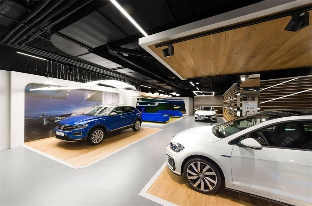 大众汽车展厅设计欣赏